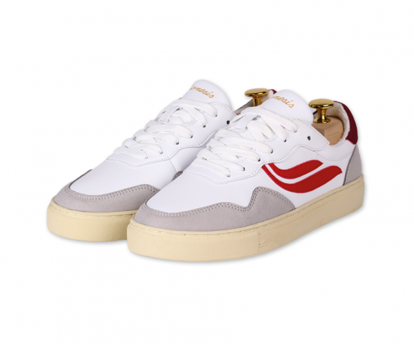 G-Soley Sporty-Vegan (offwhite/ultrared)